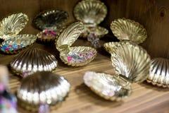 Goldene Auster Lizenzfreies Stockbild