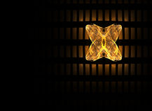 Goldene Basisrecheneinheit Stockbild