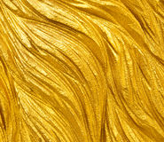 Goldene Beschaffenheit Stockbild