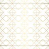 Goldene Beschaffenheit Nahtloses geometrisches Muster Goldener Hintergrund V Stockfotos