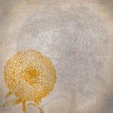 Goldene Blume Lizenzfreies Stockbild