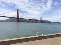 Goldene Brücke Lizenzfreies Stockfoto