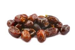 Goldene braune Dattelfrüchte Stockfoto