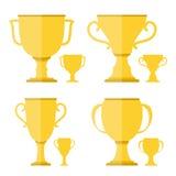 Goldene Cup Stockfoto