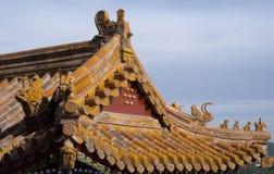 Goldene Dachgesimse Stockbilder