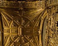 Goldene Decke Lizenzfreie Stockfotografie
