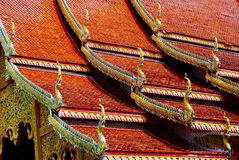 Goldene Drachen Stockfotografie