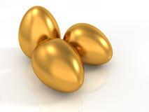 Goldene Eier Lizenzfreies Stockbild