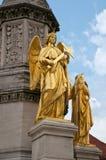 Goldene Engel stockbilder