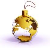 Goldene Erde stock abbildung