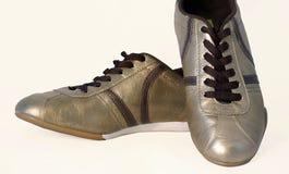 Goldene Füße Stockbilder
