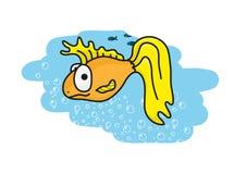 Goldene Fische Stockfotos