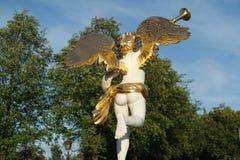 Goldene Flügel Stockfoto