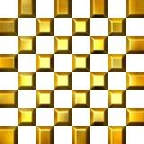 goldene Fliesen 3D vektor abbildung
