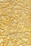 Goldene Folie lizenzfreie stockfotografie
