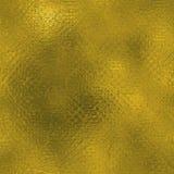 Goldene Folie Beschaffenheit des nahtlosen und Tileable Luxushintergrundes Funkelnder Feiertag geknitterter Goldhintergrund Stockfotografie