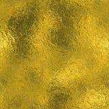 Goldene Folie Beschaffenheit des nahtlosen und Tileable Luxushintergrundes Funkelnder Feiertag geknitterter Goldhintergrund Lizenzfreies Stockbild
