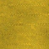 Goldene Folie Beschaffenheit des nahtlosen und Tileable Luxushintergrundes Funkelnder Feiertag geknitterter Goldhintergrund Lizenzfreies Stockfoto