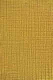 Goldene Folien-natürliches Beschaffenheits-Hintergrund-Makro Lizenzfreie Stockfotografie