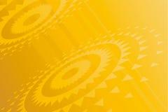 Goldene Gänge Stockbild
