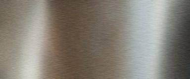 Goldene gebürstete Metallbeschaffenheit Lizenzfreie Stockbilder