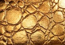Goldene glänzende Beschaffenheit Lizenzfreie Stockfotos