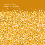 Goldene glänzende Funkelnbeschaffenheit des Vektors horizontal Lizenzfreie Stockfotos