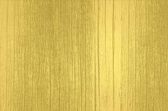 Goldene hölzerne Beschaffenheit Lizenzfreies Stockfoto