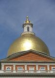 Goldene Haube des Boston-Rathauses Stockfotografie
