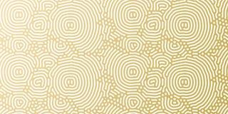 Goldene Hintergrundschablone des Weihnachtsfeiertags für Grußkarten- oder -geschenkpackpapierdesign Vektorgoldzusammenfassungsmus Stockfotos