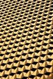 Goldene Honignetzwand Lizenzfreies Stockfoto
