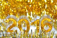 Goldene Ikone 2016 3d Lizenzfreie Stockfotografie
