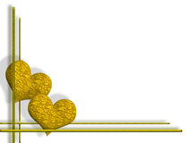 Goldene Innere lizenzfreie abbildung