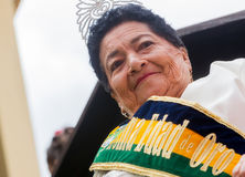 Goldene Königin in Banos De Agua Sankt Lizenzfreies Stockbild