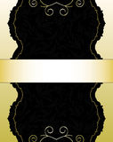 Goldene Karte Lizenzfreie Stockbilder