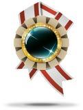 Goldene Kasinofahne vektor abbildung