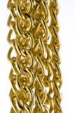 Goldene Ketten Lizenzfreie Stockbilder
