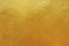 Goldene konkrete Beschaffenheit Stockfotografie