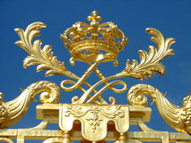 Goldene Krone stockfotos