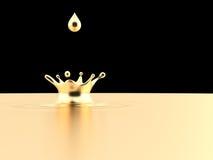 Goldene Krone Lizenzfreies Stockfoto