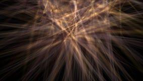 goldene Laser-Faserlinie des Strahls 4k unter Sonnenlicht, zukünftige Lichtenergie der Wissenschaft stock video