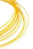 Goldene Linie Stockfoto