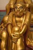Goldene Lohan Statue Lizenzfreie Stockbilder
