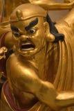 Goldene Lohan Statue Stockfoto