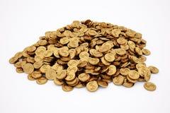 Goldene Münzen Lizenzfreie Stockfotografie