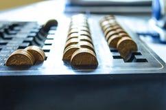 Goldene Münzen Lizenzfreies Stockfoto
