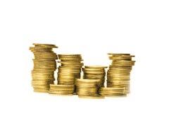 Goldene Münzen Lizenzfreie Stockbilder