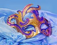 Goldene Maske Lizenzfreie Stockbilder