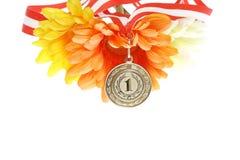 Goldene Medaille Lizenzfreies Stockbild