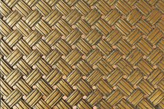 Goldene Metallbeschaffenheit stockfoto